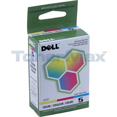 DELL 922 INK CARTRIDGE COLOR
